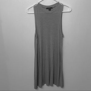 Light Gray Sleeveless Shift Dress | Forever 21 | M